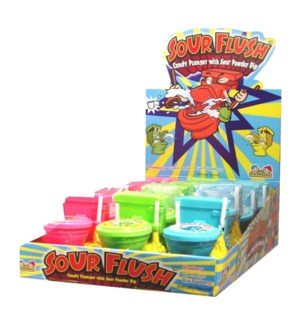 Sour Flush Candy Plunger