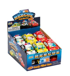 Rescue Candy Filled Cars