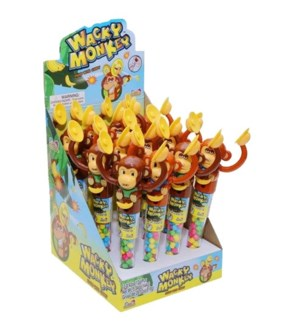 Wacky Monkey Candy Filled Toy