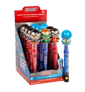 Justice League Light Up Squeeze Candy