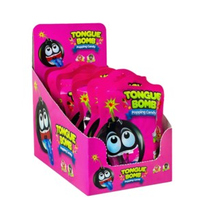 Tongue Bomb Popping Candy