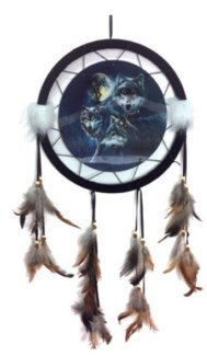 "13"" Wolf Pack Dreamcatcher"