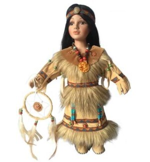 Native American Doll - Alameda