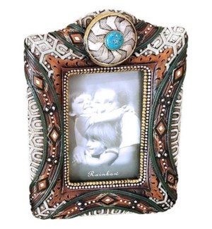 Silver Concho 5x7 Frame