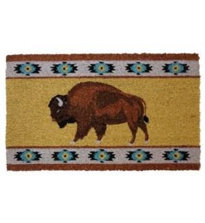 Buffalo Door Mat