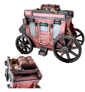 Stagecoach Coin Bank