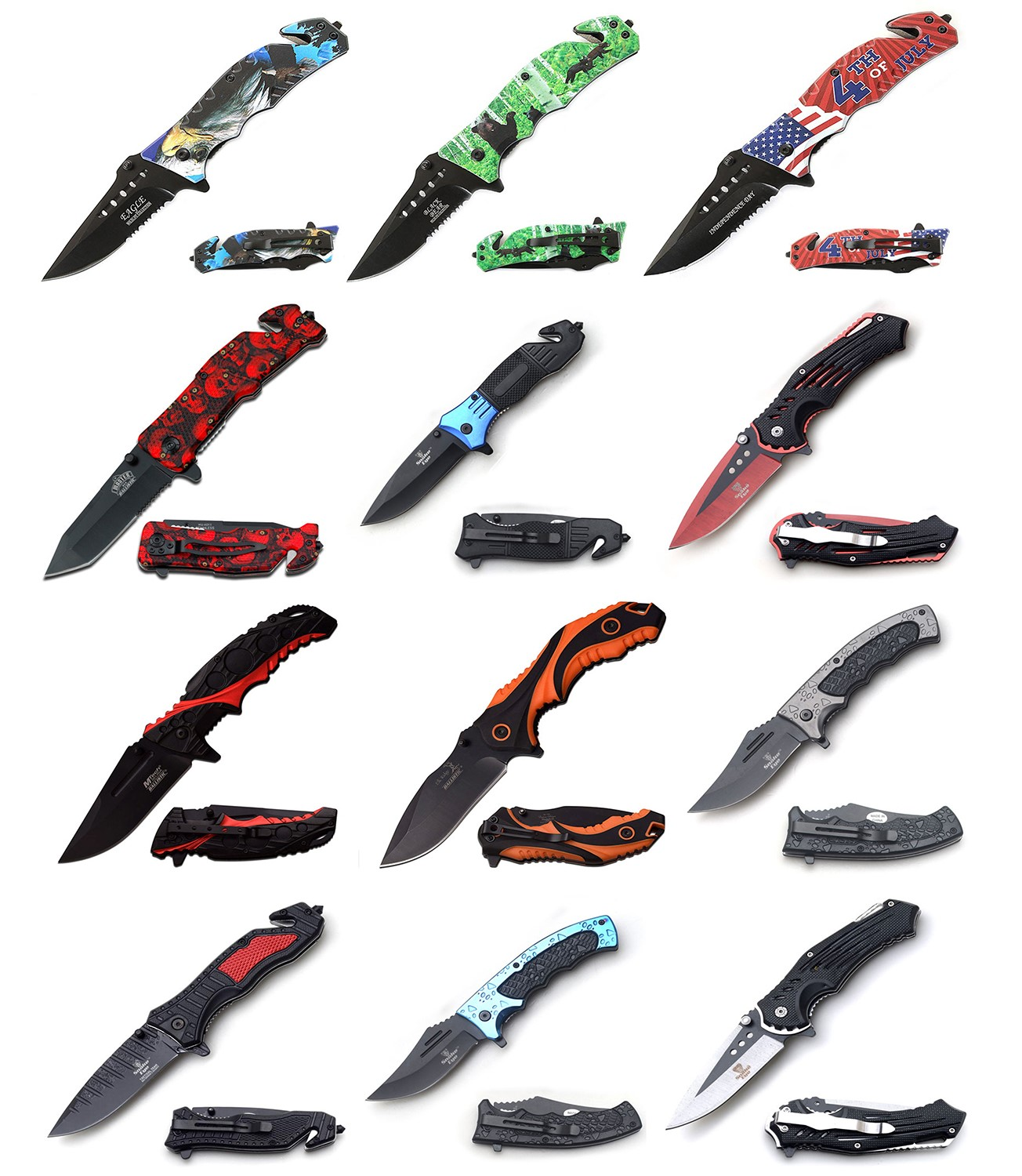 Assorted Knives   A