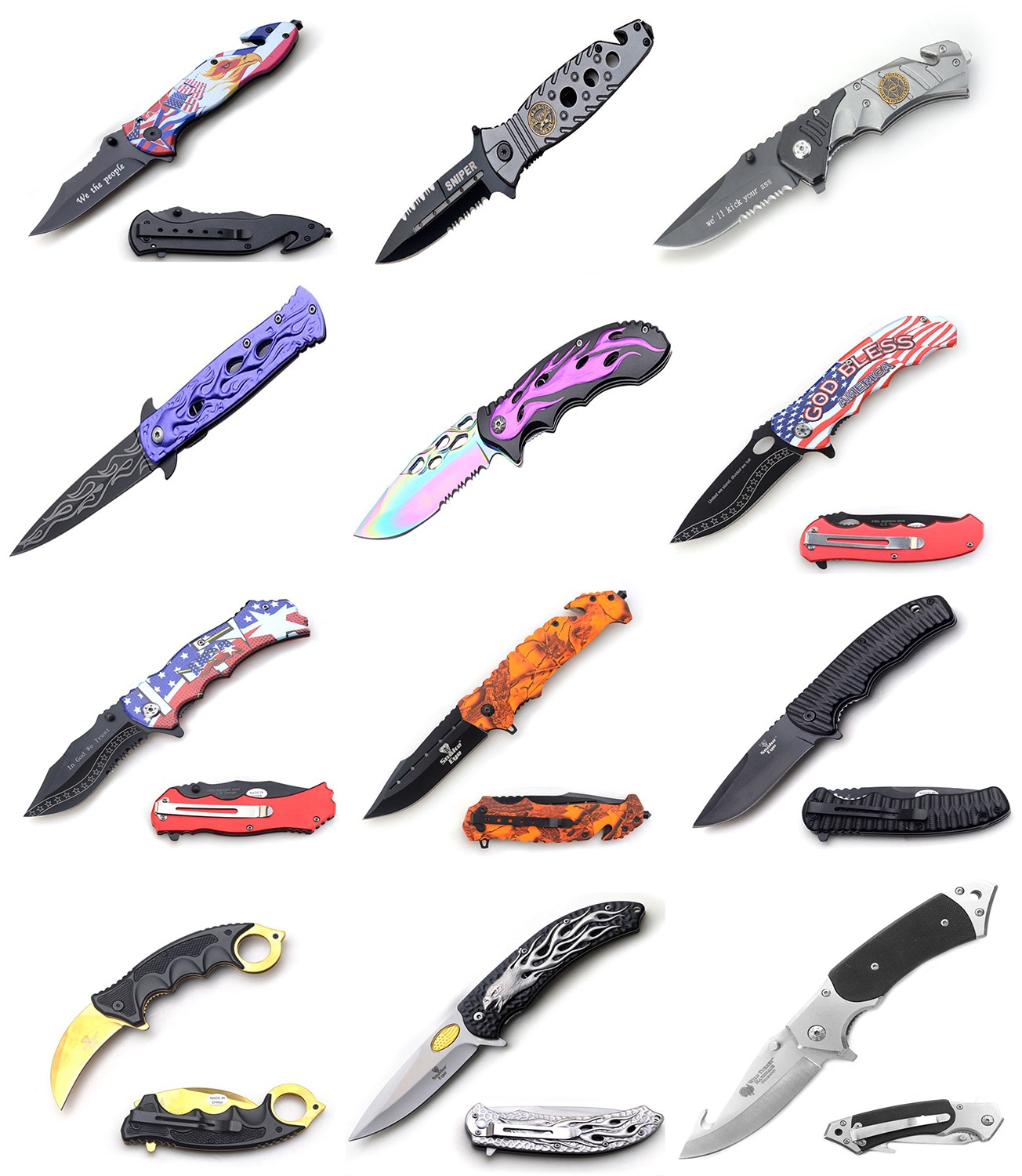 Assorted Knives   B