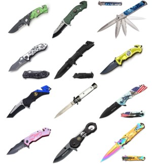 Assorted Knives - B