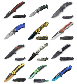 Assorted Knives - C