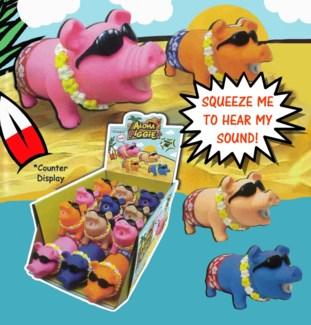 Squeeze Me Aloha Pig