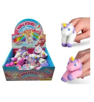 Walking Unicorn Finger Puppets