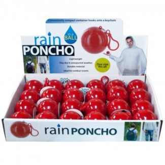 Rain Poncho in Carrying Ball