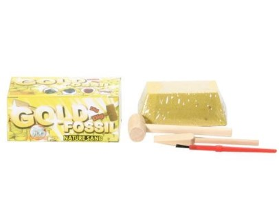 Gold Fossil Dig Toy