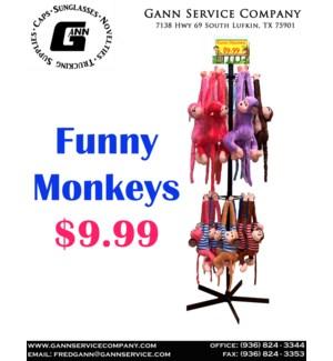 Funny Monkeys Display