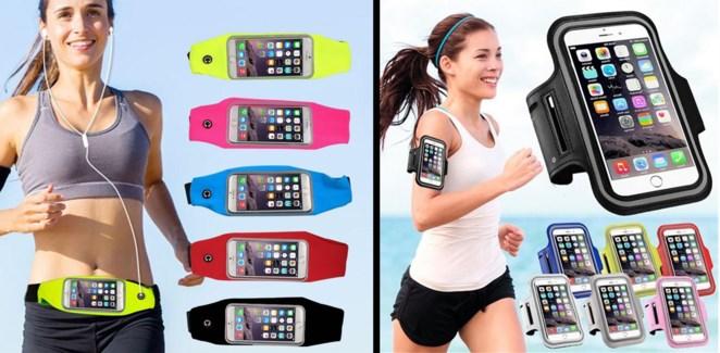 Waist & Arm Cell Phone Holders