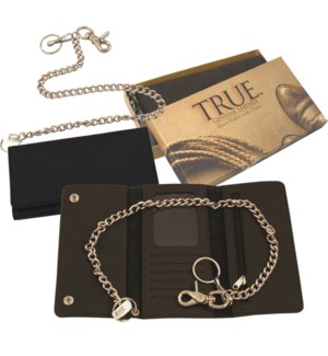 Biker Wallet with Chain