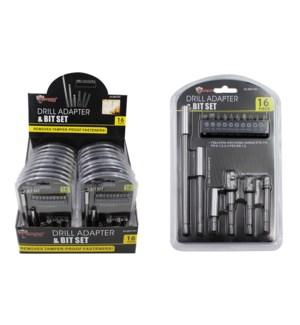 Drill Adapter & Bit Set