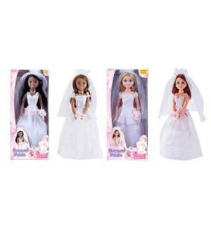 """17"""" Jumbo Bride Doll"""
