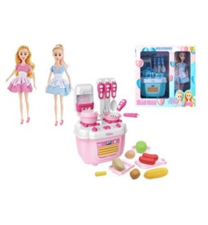 Kitchen Doll Play Set