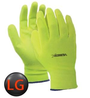 Hi Visibility PV Coated Gloves - LG