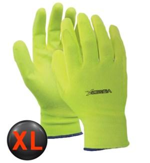 Hi Visibility PV Coated Gloves - XL