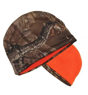 Camo & Orange Reversible Beanie