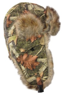 Trapper Hat - Oilskin Brown Fur