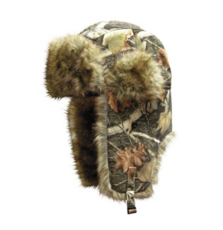 Trapper Hat - Huntin Camp Camo