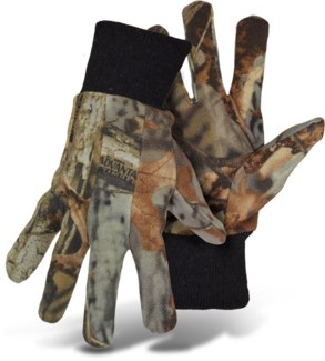 Camo Jersey Gloves with Dots