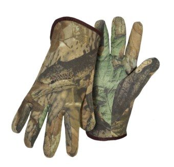 Camo Open Cuffed Gloves
