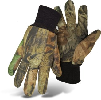 Camo PVC Dotted Palm Lined Gloves