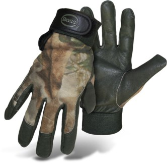 Pigskin Palm Gloves - Large