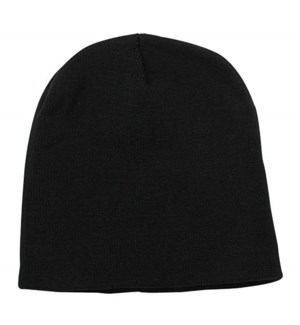 Fleece Beanie - Black