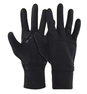 Frostbite Fleece Gloves - Black