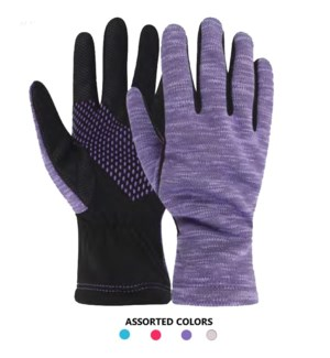 Ladies Fleece Gloves - Space Dye