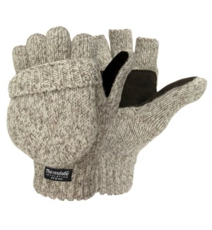 Wool Camo Pop Top Gloves