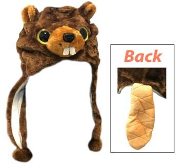 Critter Hat - Bucky Beaver