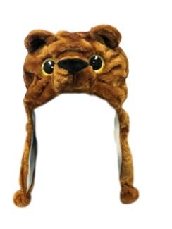Critter Hat - Bobby Brown Bear
