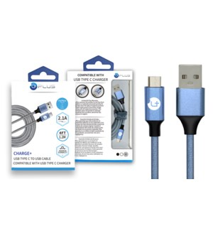 4' Type-C USB Cable