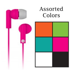 Assorted Earbuds