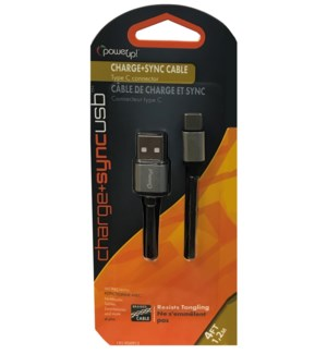 Type C USB Cord - 4 Foot