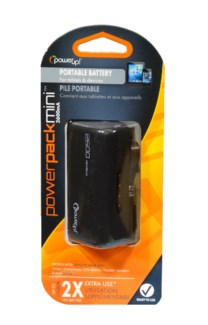 Backup Battery 2600Ma - Black