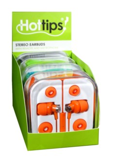 Stereo Earbuds with Remote & Mic