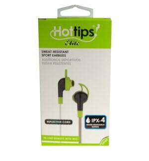 Sweat Resistant Sport Earbuds