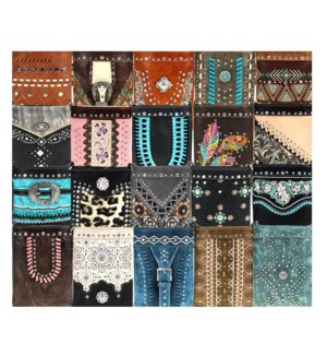 Pre-Pack Cross Body Purses - CLB-023