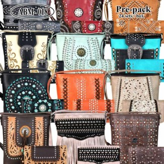 Pre-Pack Purses with Matching Wallets - ABM-018