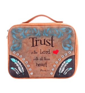 Trust In The Lord Bible Cover