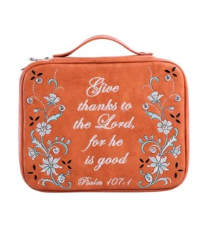 Give Thanks Bible Cover