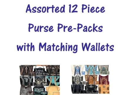 Pre-Pack Purses & Wallets - AB-051W